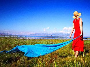 纵观新疆茫茫戈壁滩