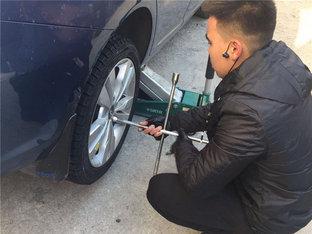 换雪地胎 艾瑞泽5安装胎压监测