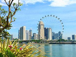 陪同好友前往新加坡