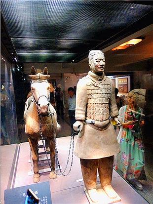西安兵马俑令人赞叹