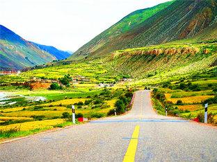 探寻信仰 雨季单车自驾西藏行