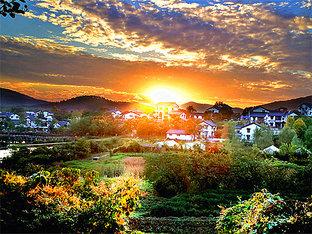 恬静风光打动人心 远方有个村子叫鹅泉