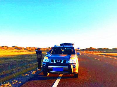 梦想成真 新疆沿途风光无限美