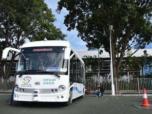 每周车事第39期:无人驾驶公交试验运行