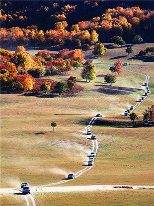 坝上草原归来不看秋