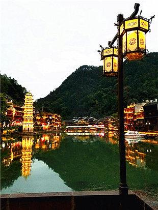 三下江南览凤凰古城