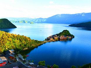 从清晨到日暮 一方仙境泸沽湖