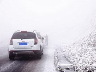 白雪皑皑 巴朗山冰雪别有风味