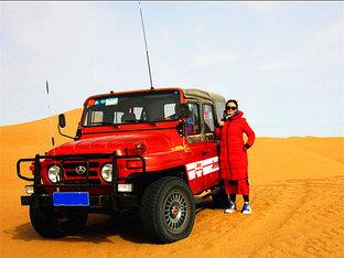 走进沙漠走近胡杨林