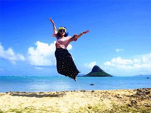 碧海沙滩 畅游夏威夷看比基尼