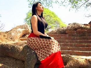 臀部很翘 缅族姑娘的最大特征