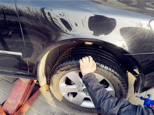 打磨处理轮圈腐蚀 明锐解决轮胎漏气