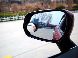 减小盲区 瑞风S3装后视小圆镜