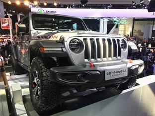 北京车展睹风采 赏析2018款Jeep牧马人