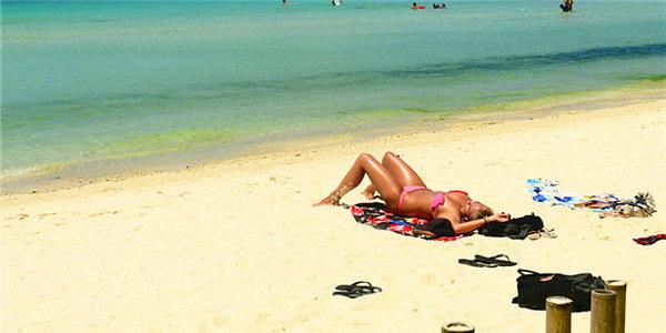 亚洲最美沙滩 长滩岛风光旖旎