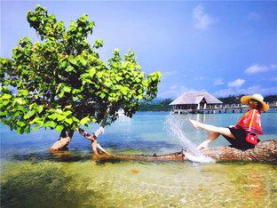 看阳光沙滩和海浪 不一样的沙巴海岛游