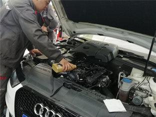 奥迪A4L换油 绞尽脑汁改善机油消耗情况