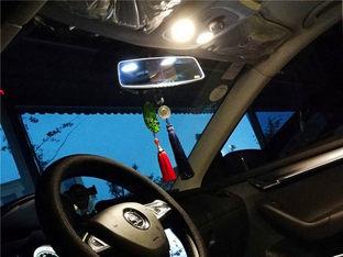 不再昏暗无光 明锐旅行版改车内氛围灯