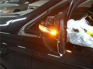 倒车时撞柱子上 锐界更换后视镜转向灯
