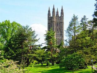 普林斯顿大学 如森林里的古堡神秘美丽