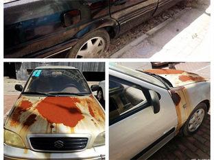 遭锈蚀掩盖 车辆长时间停放会怎样?