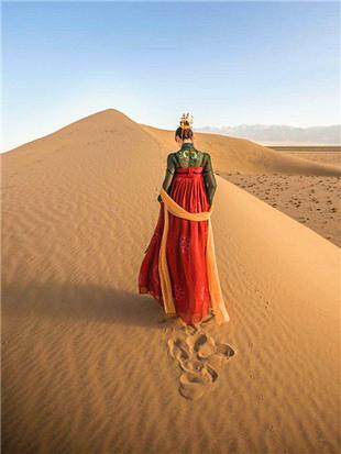 大漠人像采风