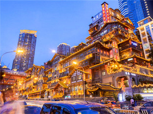 对这座城市好奇 酷暑七月热游山城重庆