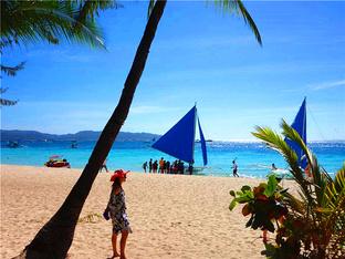 春节的走马观花 菲律宾长滩岛