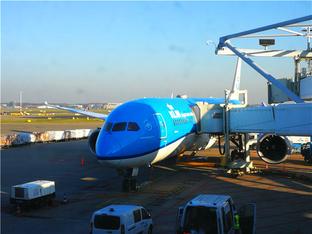 荷兰航空787公务舱