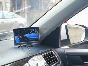爱车加装盲区视频 并线变道更放心