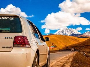 一车两人 走回头路 探川西神山