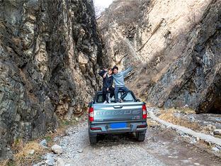 大歪小正#无路?#25442;? 穿越紫花尖峡谷