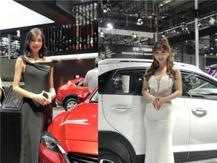 看一堆美女 深港澳国际车展走马观花