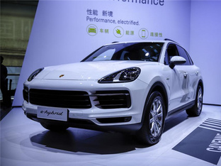 广州车展实拍 保时捷Cayenne E-Hybrid