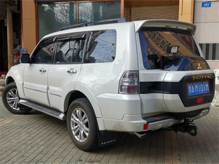 帕杰罗V97-提车及小改 对它情有独钟