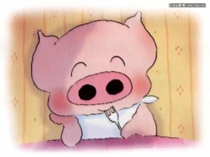 卡通小猪头饰简笔画相关图片展示