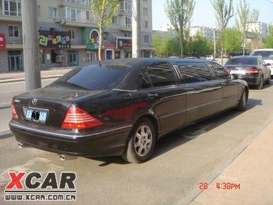 标题 出售 奔驰加长S500豪华轿车