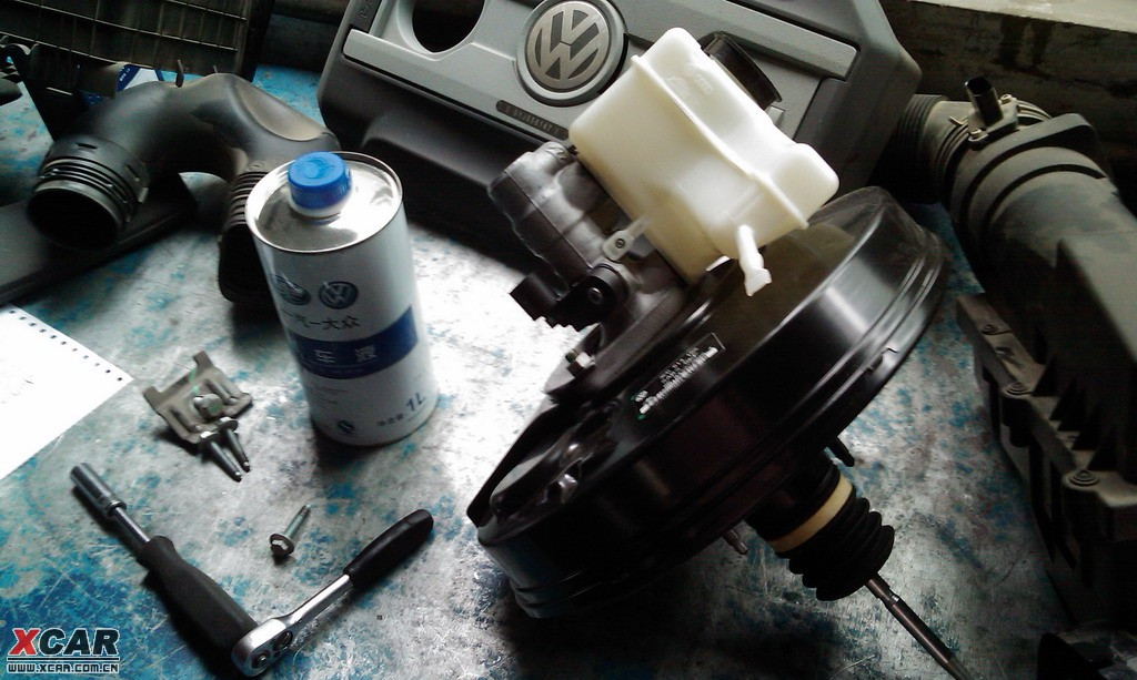 小迈的刹车真空助力泵挂了 迈腾论坛 XCAR 爱卡汽车俱乐部高清图片