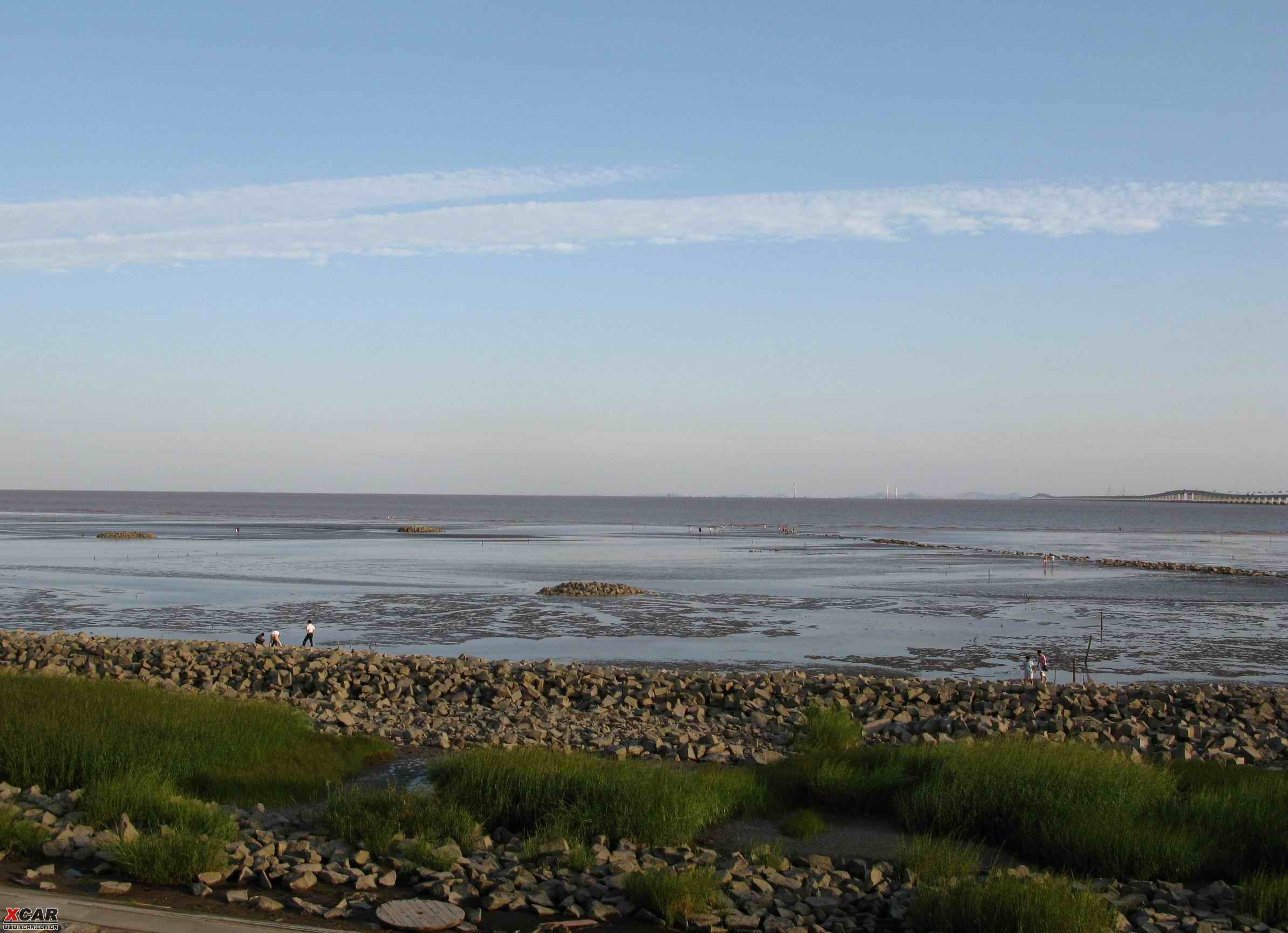 滴水湖回来的路上看到的 途安论坛 xcar 爱卡汽车俱乐部高清图片