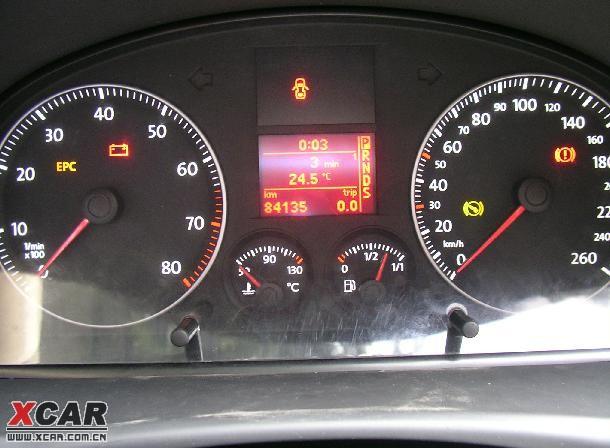 终于等不了 改了白光仪表灯了 11 途安论坛 xcar 爱卡汽车高清图片