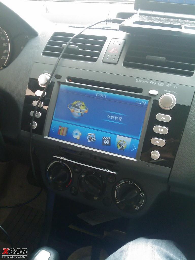 我的老雨燕也换dvd导航 雨燕论坛 xcar 爱卡汽车俱乐部高清图片