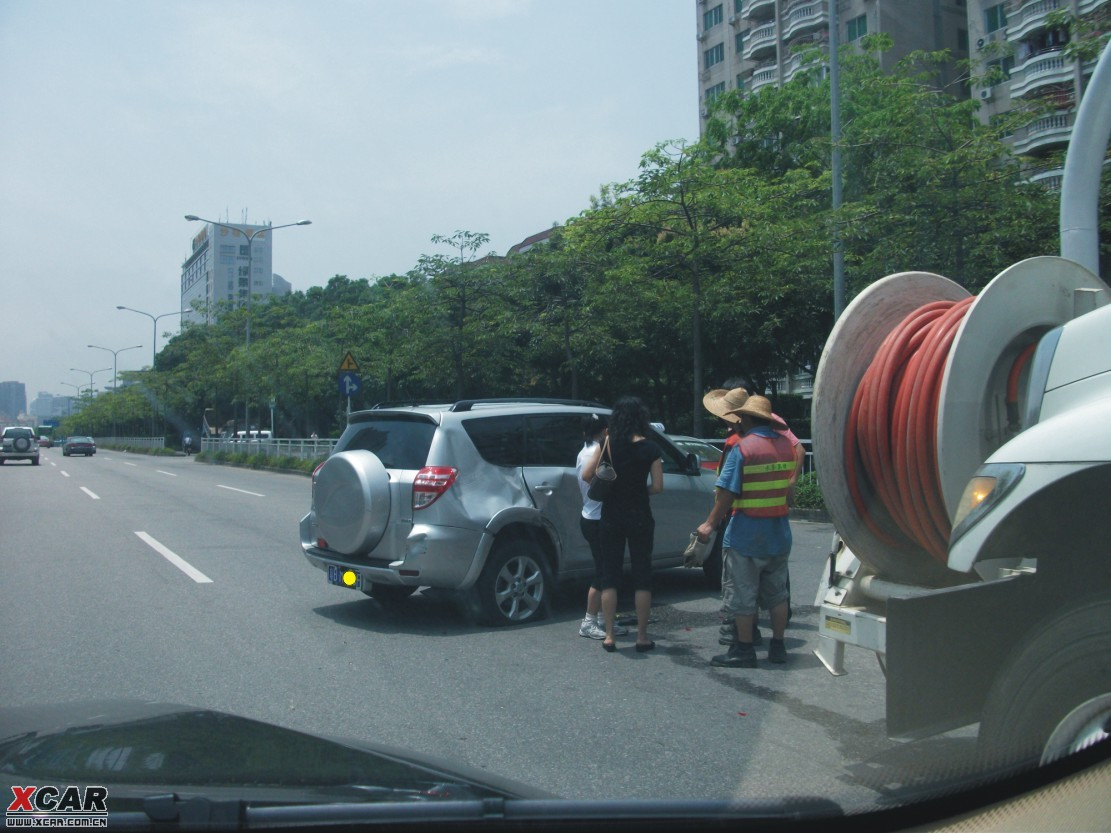 这事故貌似是RAV4的责任吧 深圳汽车论坛 XCAR 爱卡汽车俱乐部 -回高清图片