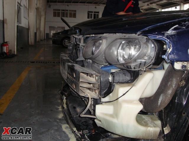 同时见到的MG6和MG7防撞钢梁的用料差别 MG论坛 XCAR 爱卡汽车高清图片