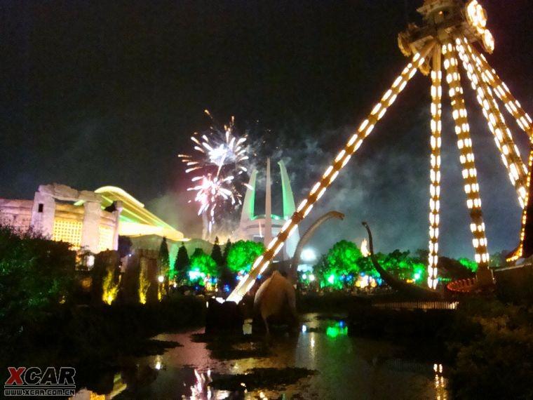 标题 中国常州中华恐龙园夜公园 继续补作业
