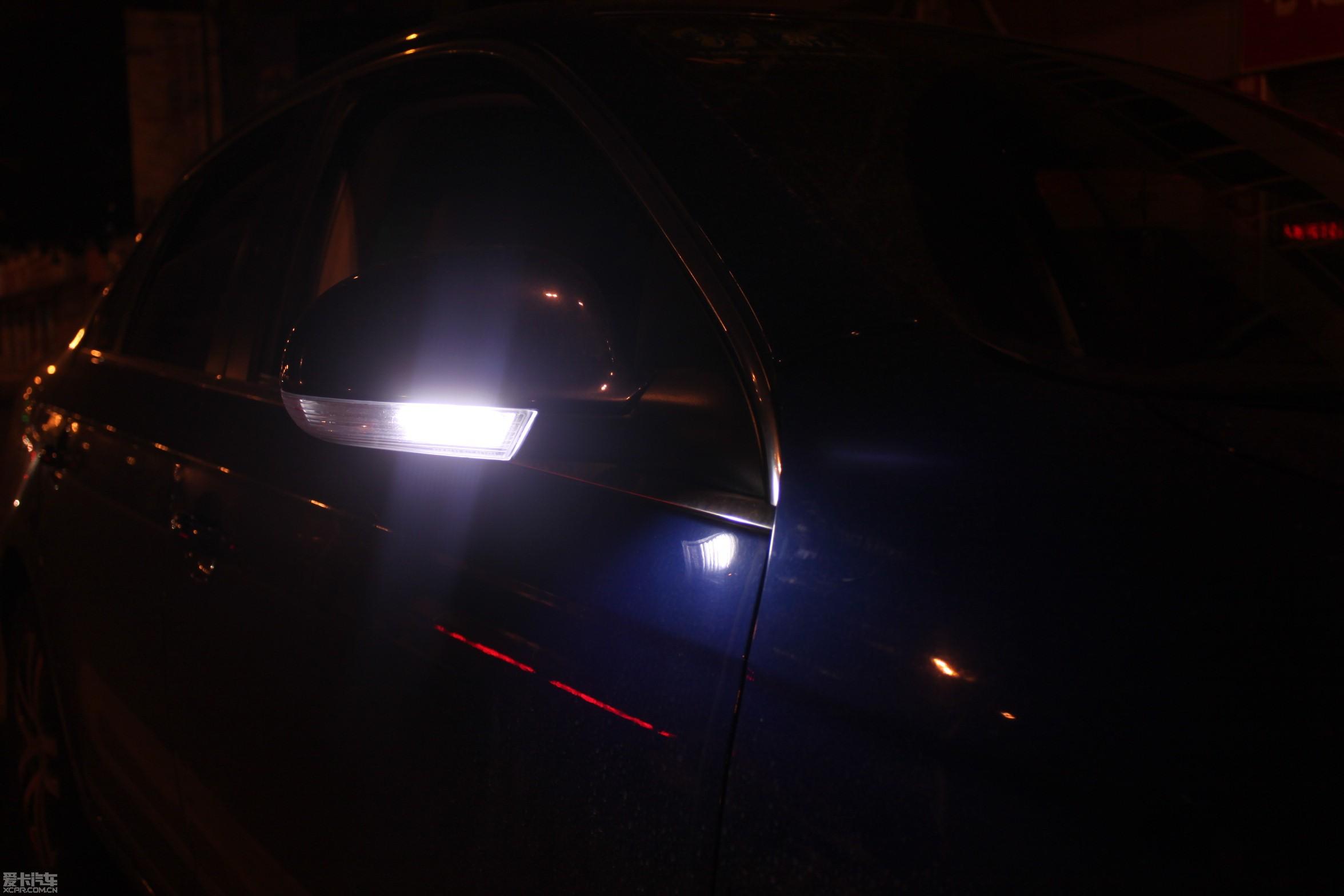 探照灯 为阿姨的led银耳灯正名 速腾论坛 xcar 爱卡汽车俱乐高清图片