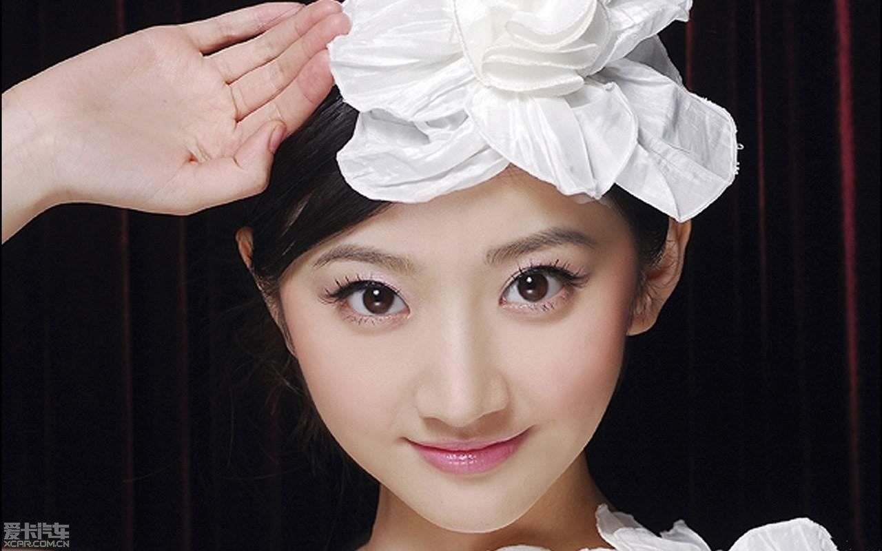 中国清纯美女景甜高清写真1280*800