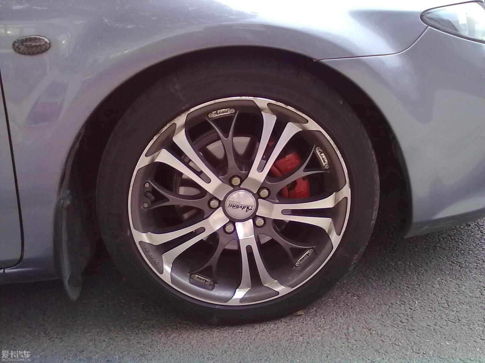 轮圈一套 附送尾翼 马自达6论坛 XCAR 爱卡汽车俱乐部高清图片