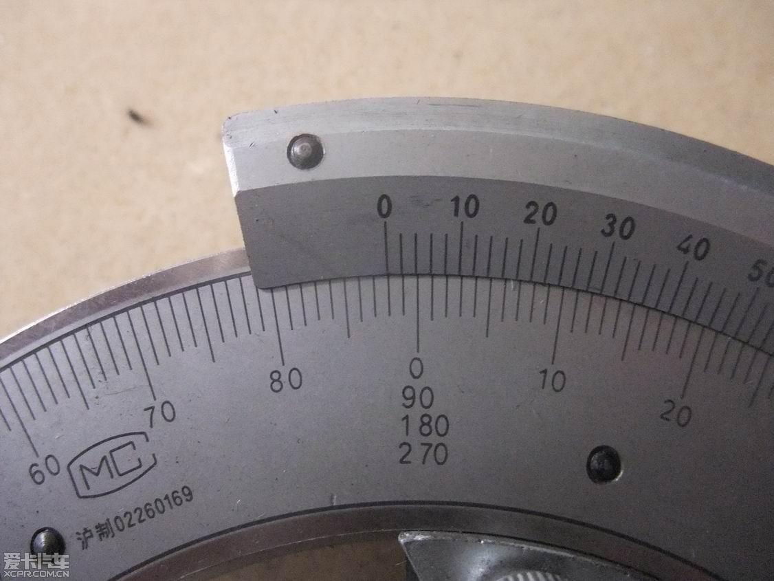后轮外倾角简单测量 满载300公斤 途安论坛 XCAR 爱卡汽车俱乐部高清图片