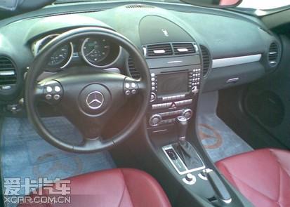 出售07款slk350奔驰黑色红皮 二手车论坛 二手车交易论坛