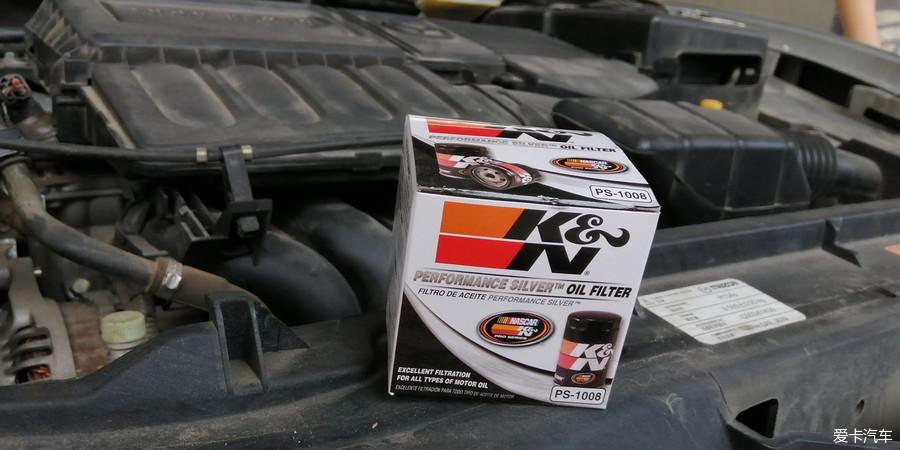 K&N高效机油滤清器